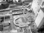 Episcopal Palace with the Chapel of Sts. Morice before roofing the area of the so-called small excavations. © ARÚ Praha, inv. No FT000103193.