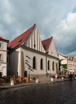The present form of the Bethlehem Chapel is the result of a general renovation of the building from 1950-1954. Photo by M. Kracík, 2015, NPÚ Praha.