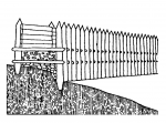 The construction of a rampart from the beginning of the 6th century BC (Drda - Rybová 2008).